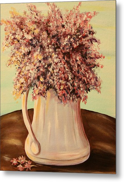 Lilacs For Mom Metal Print by Dyanne Parker
