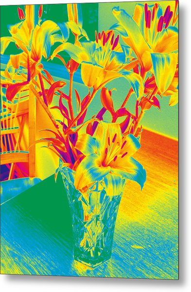 Lilies #3 Metal Print