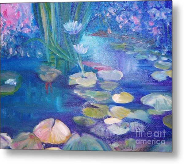 Lillypads Metal Print by Judy Groves