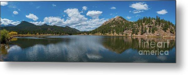 Lily Lake Panorama  Metal Print