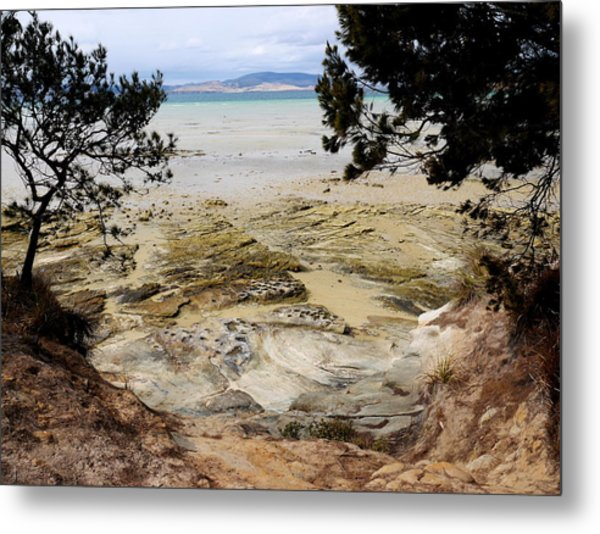 Lime Bay Tasmania 5 Metal Print