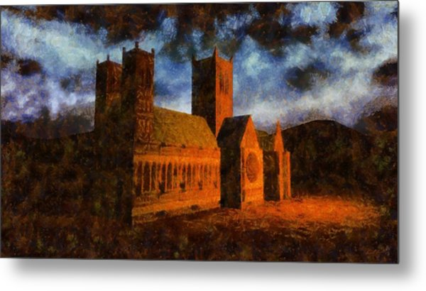 Lincoln Cathedral Metal Print