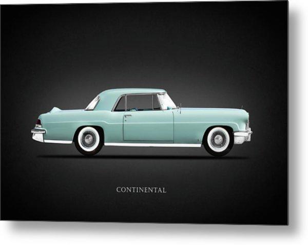 Lincoln Continental Mk2 1956 Metal Print
