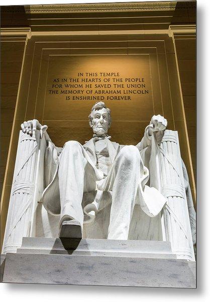 Lincoln Memorial 2 Metal Print