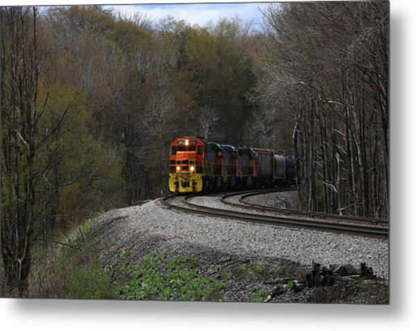 Lindholm Train Metal Print