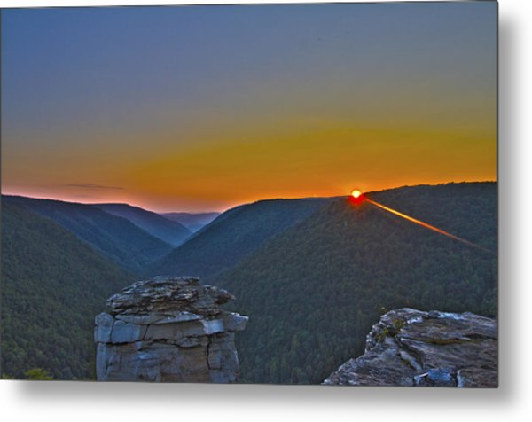 Lindy Point Sunset Metal Print