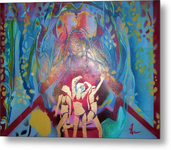 Lion Dance Metal Print by Dorian Williams