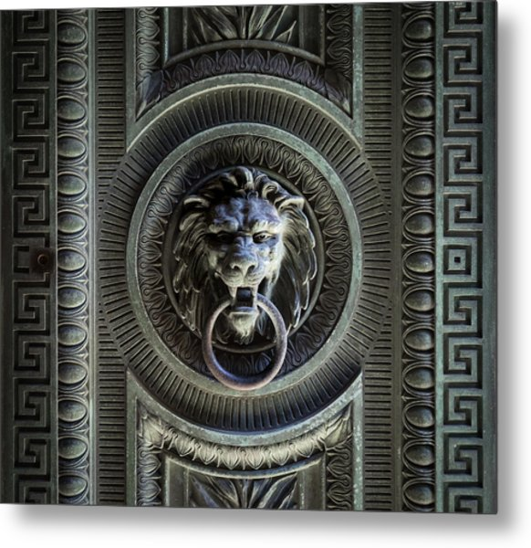 The Guardian I Metal Print by Denise McKay