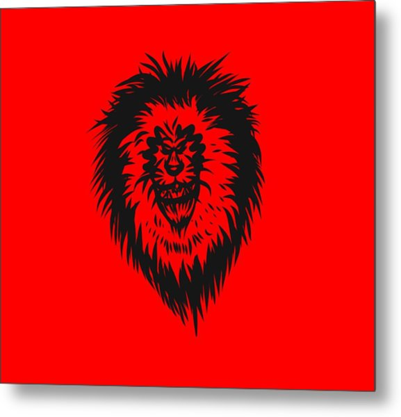 Lion Roar Metal Print