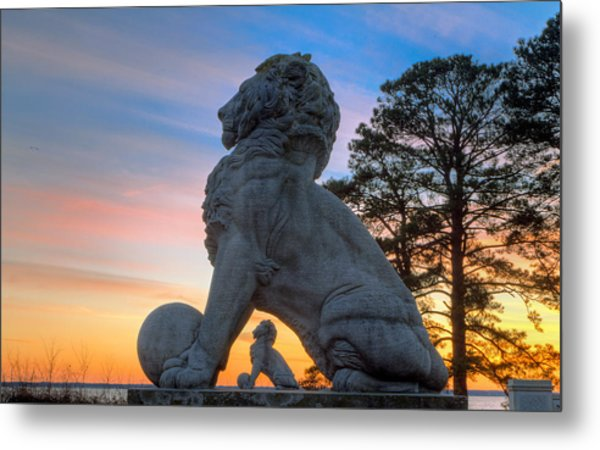 Lions Bridge At Sunset Metal Print