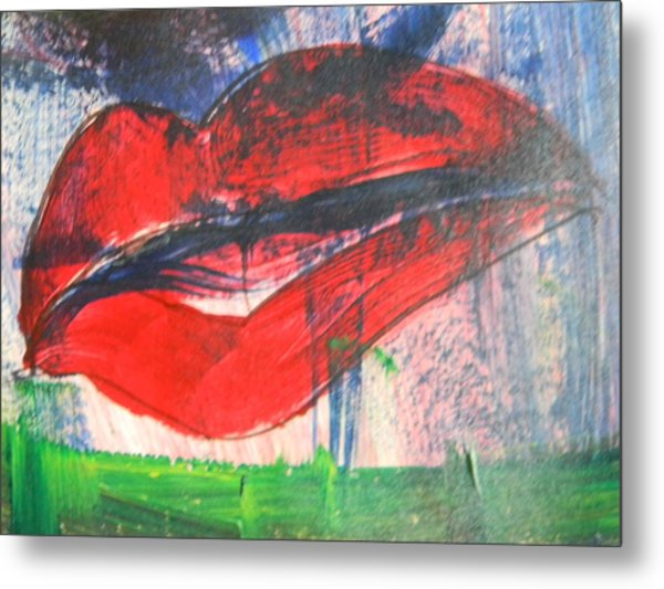 Lipstick - Sold Metal Print