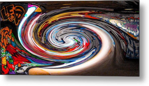 Liquefied Graffiti 4 Metal Print