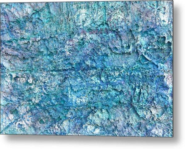 Liquid Abstract #22617 Metal Print