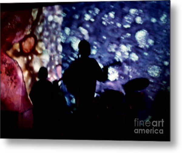 Liquid Light Show 1968 Metal Print