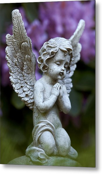 Metal Print featuring the photograph Little Angel by Marc Huebner