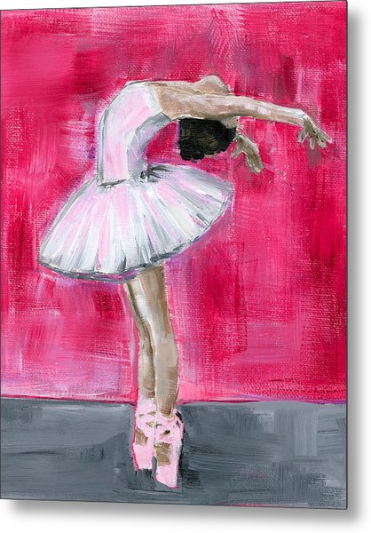 Little Ballerina #2 Metal Print