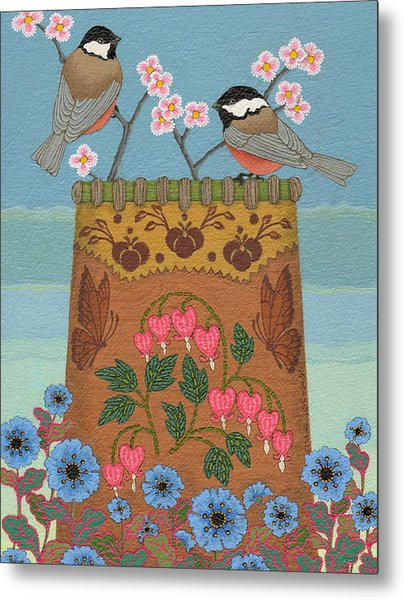 Metal Print featuring the painting Little Bird by Chholing Taha