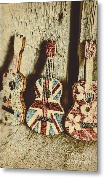 Little Britain, Big Sounds Metal Print