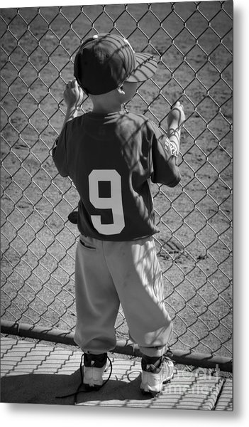 Little Brother Metal Print