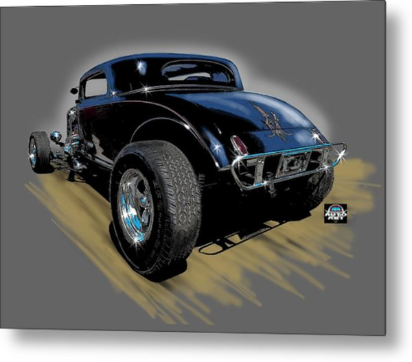 Little Deuce Coupe Metal Print