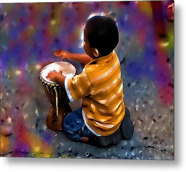 Little Drummer Boy Metal Print by James  Mingo