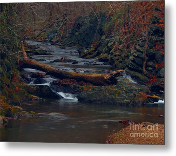 Little Falls Metal Print