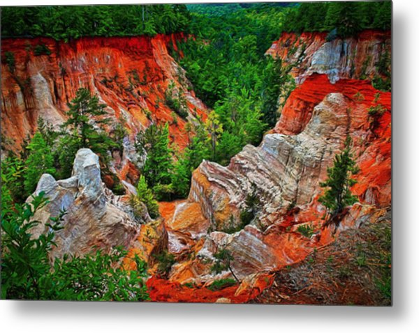 Little Grand Canyon Metal Print