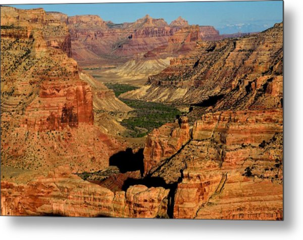 Little Grand Canyon Sunrise Metal Print