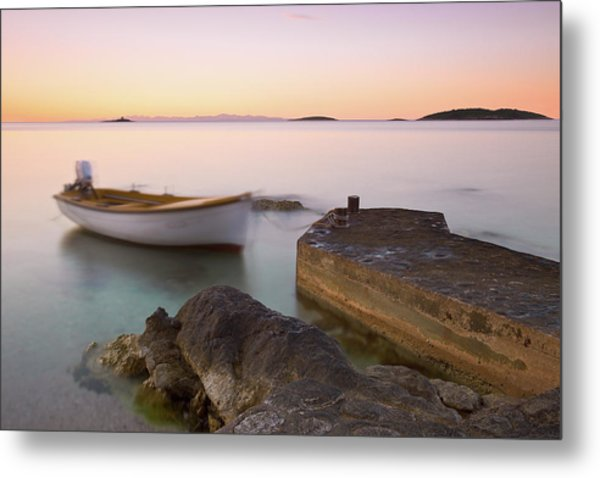 Metal Print featuring the photograph Little Haven by Davor Zerjav