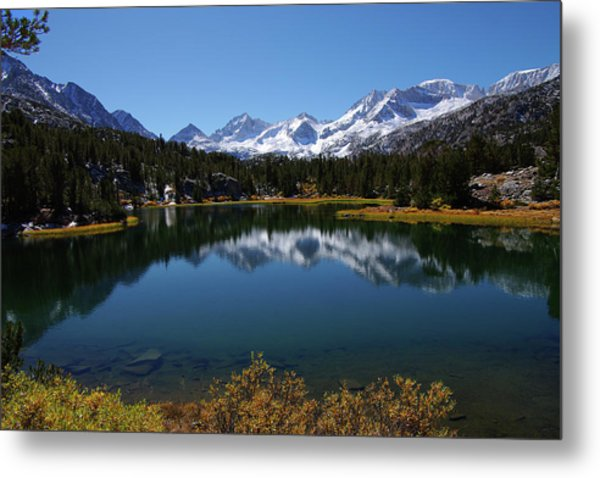 Little Lakes Valley Eastern Sierra Metal Print