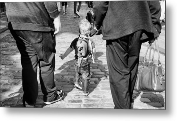 Little Man Metal Print