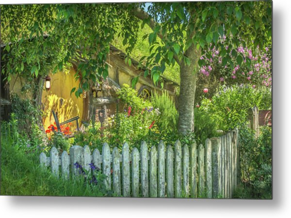 Little Picket Fence Metal Print