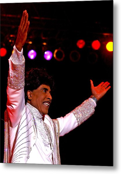 Little Richard Metal Print by Bob Guthridge