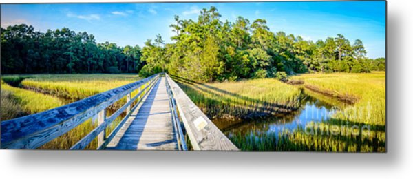 Little River Marsh Metal Print