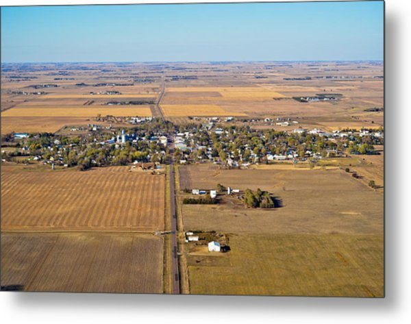 Little Town On The Prairie Metal Print