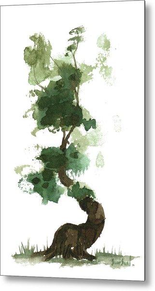 Little Zen Tree 154 Metal Print