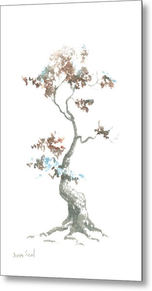 Little Zen Tree 444 Metal Print