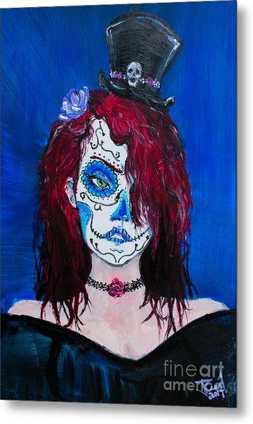 Living Dead Girl Metal Print