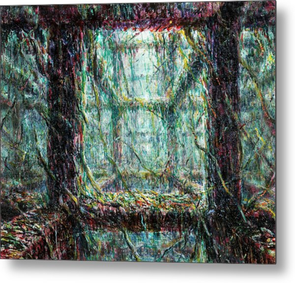 Living Structure Metal Print by De Es Schwertberger