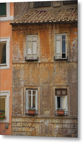 Living Trastevere Metal Print by JAMART Photography