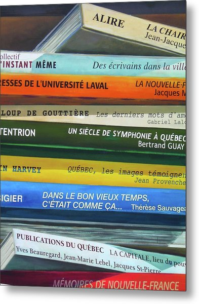 Livres ... Metal Print