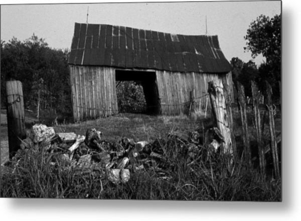 Lloyd-shanks-barn-4 Metal Print by Curtis J Neeley Jr