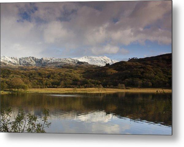 Llyn Dinas - Snowdonia - Wales Metal Print by Gary Rowe