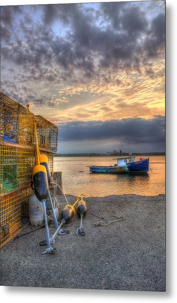Lobster Boat At Sunset Seabrook Nh Photograph By Joann