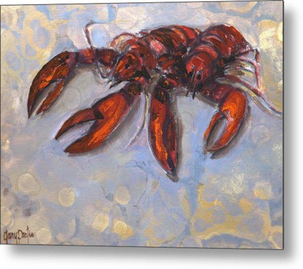 Lobster Find Metal Print
