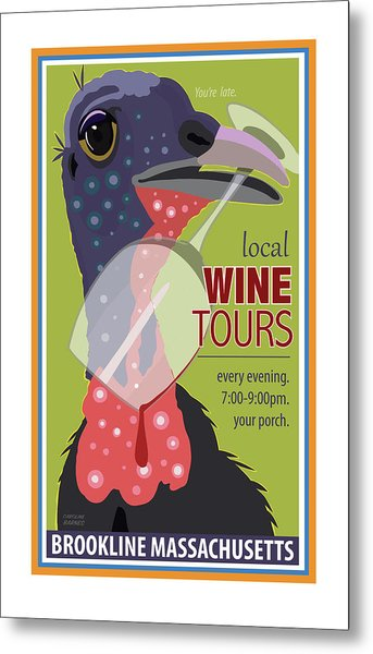 Local Wine Tours Metal Print