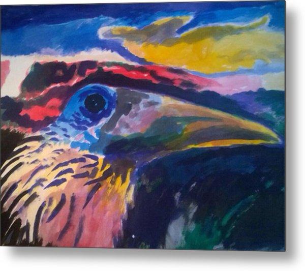 L'occhio Del Tucano Metal Print