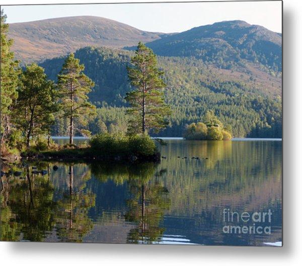 Loch An Eilein - Cairngorms National Park Metal Print