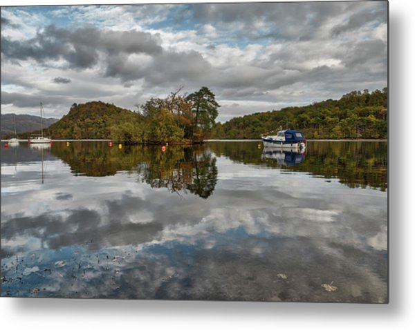 Loch Lomond At Aldochlay Metal Print