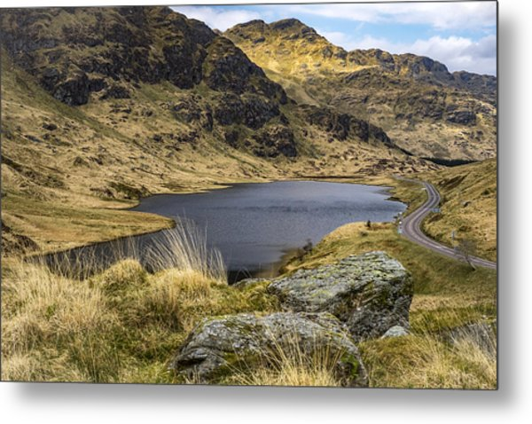 Loch Restil From Rest And Be Thankful Metal Print